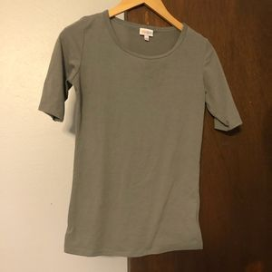 Lula Roe Small T Grey XS